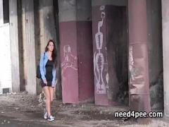 Cool x videos category pissing (309 sec). Teen hotties in need pissing on the streets.