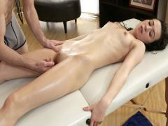 Oiled Up Teen Titties -(Ariel Grace)