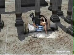 Cool video category toons (320 sec). 3d tight pussy fucked hard by colleg on her mession.