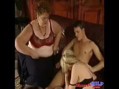 Nice romantic video category sexy (566 sec). Nasty orgy with fisting a fat MILF.