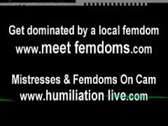 18+ video category bdsm (477 sec). Eat your cum and lick your lips clean CEI.