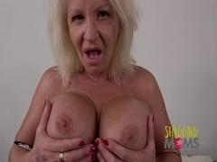 Genial movie category blonde (779 sec). Naughty Mature Whore Cums On A Huge Cock And Loves It.
